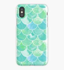 Green scales iPhone Case