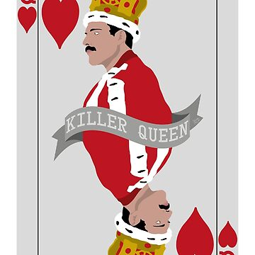 Freddie poker card by silvia-vacca