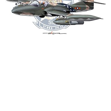 VNAF A-37B Dragonfly - 516th FS with Patch Background. by ACVuConcepts
