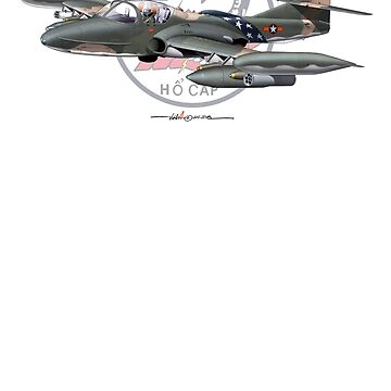 VNAF A-37B 528th FS Scorpion with Patch Background. by ACVuConcepts