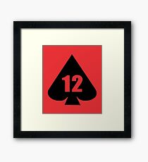 12th Armoured Infantry Brigade (United Kingdom) - Clean Style Framed Print