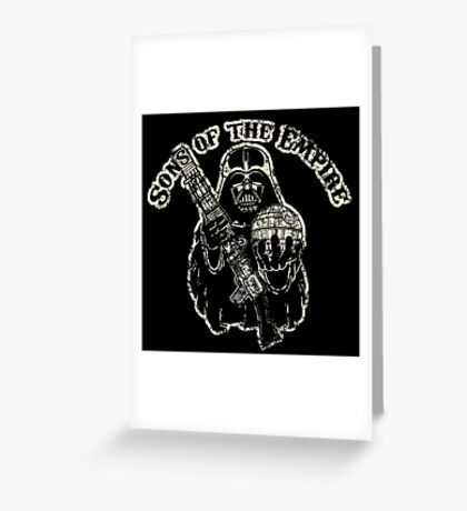 Sons of Empire Badge Greeting Card