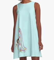 May Day Angel A-Line Dress