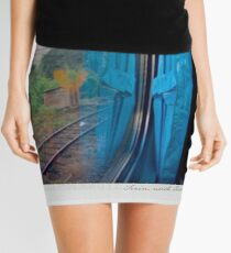 Curtain 1 Polaroïd Mini Skirt