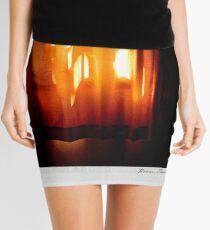 Curtain 2 Polaroïd Mini Skirt