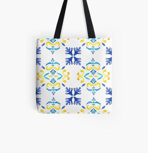Lissabon - Bairro Alto Allover-Print Tote Bag