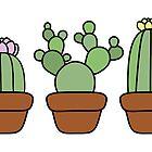 Cacti by MarissEllaUK