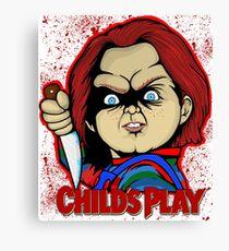 Childs Play Chucky Canvas Print