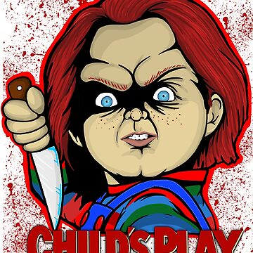 Childs Play Chucky by gjnilespop