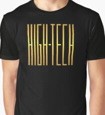 High tech gold color Graphic T-Shirt