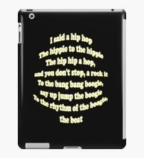 Hip Hop Rap Classic 80's Break Dance Design iPad Case/Skin