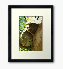 Hold Your Chin Up Framed Print