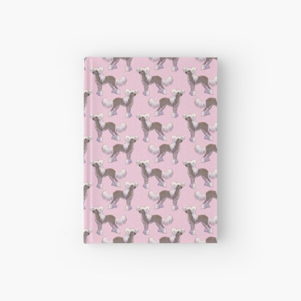 Chinese Crested - Hairy Hairless Hardcover Journal