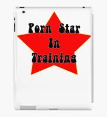 Training Porn Star Funny Joke Design iPad Case/Skin