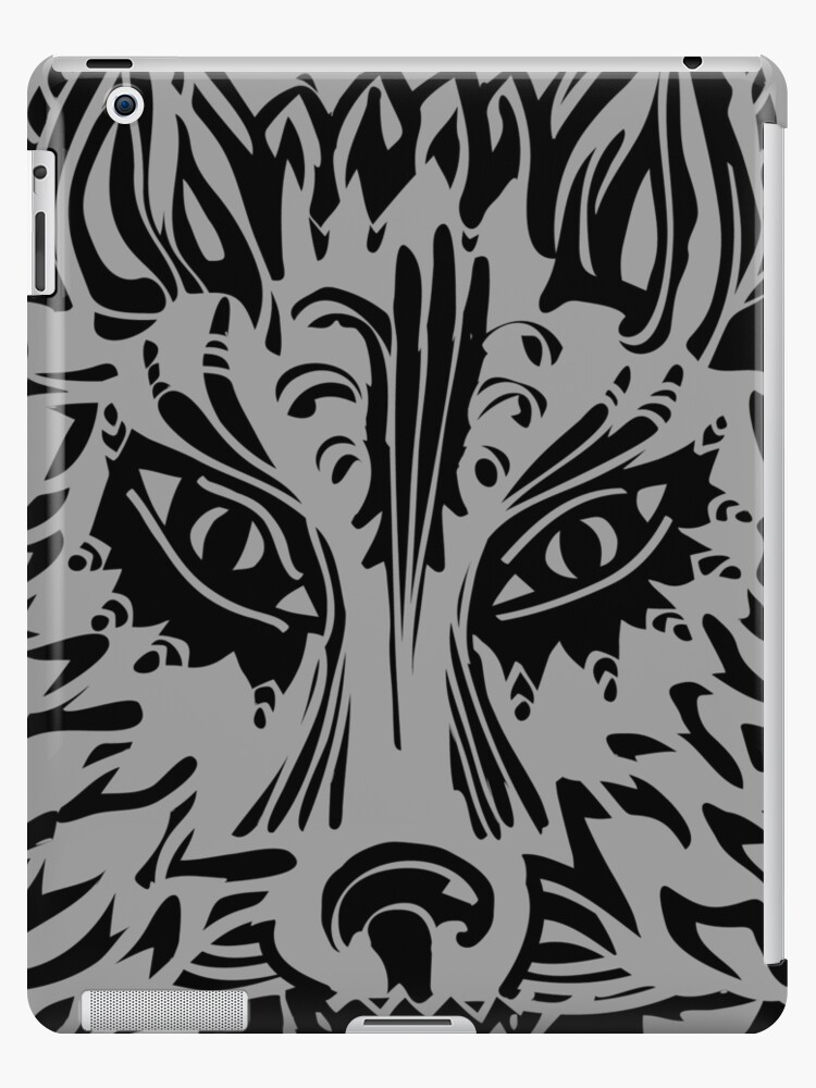 Wolf Symbol Of Loyalty And Strength Ipad Cases Skins By Anne