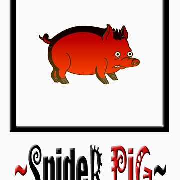 Spider pig~ by hattart