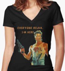 Jack Burton Relax Shirt mit V-Ausschnitt