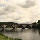 River Tay at Dunkeld by Martina Fagan