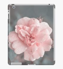 Romantic Rose In Teal Light iPad Case/Skin