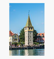 View of Lindau town, Bodensee, Germany Photographic Print