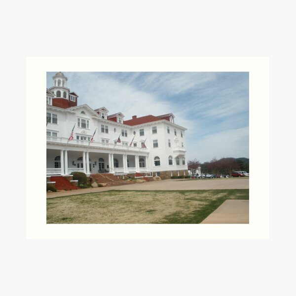 Stanley Hotel - Location of THE SHINING upclose and personal Art Print