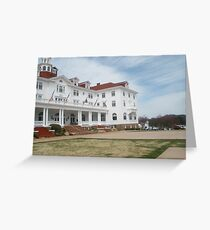 Stanley Hotel - Location of THE SHINING upclose and personal Greeting Card