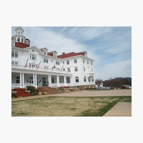 Stanley Hotel - Location of THE SHINING upclose and personal Photographic Print