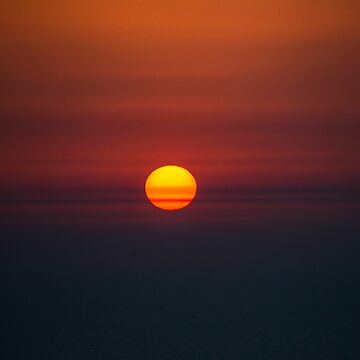 Sunset Over Arabian Gulf, JBR, Dubai, UAE by Photograph2u