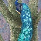 « Le paon - The peacock » par Castel Yvonne