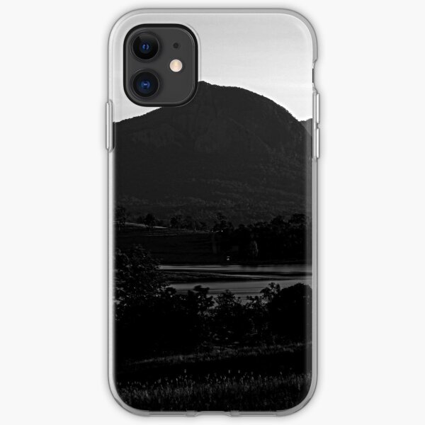 Mt Greville, afternoon light iPhone Soft Case