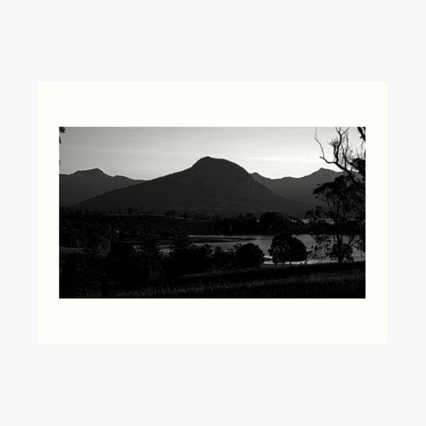 Mt Greville, afternoon light Art Print