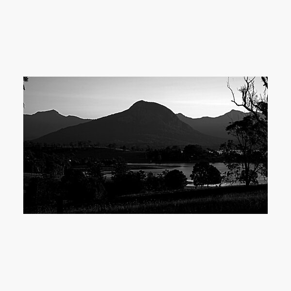 Mt Greville, afternoon light Photographic Print