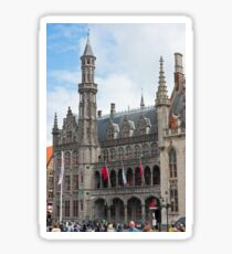 The building of Historium museum, Bruges, Belgium Sticker