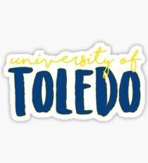 University of Toledo - UT Sticker