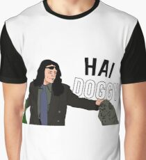 Hai Doggy Graphic T-Shirt