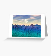 Mysterious World Greeting Card