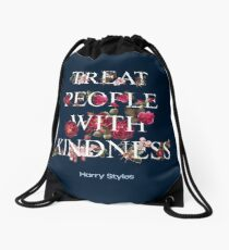 Treat People With Kindness - Harry Styles Drawstring Bag