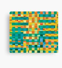 Abstract Sqaures Canvas Print