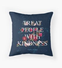Treat People With Kindness - Harry Styles Throw Pillow