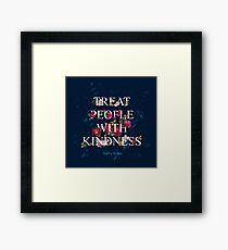 Treat People With Kindness - Harry Styles Framed Print