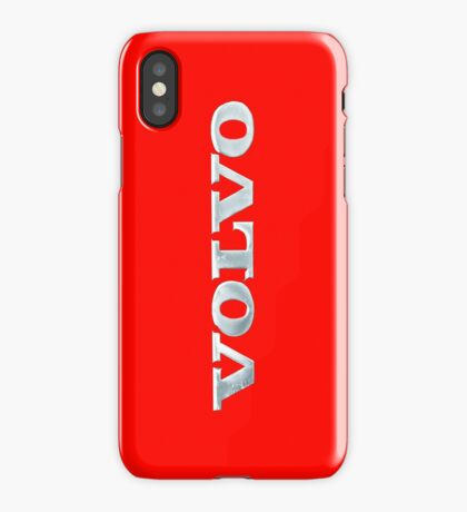 Old Volvo Emblem, Red [iPhone ONLY] iPhone Case