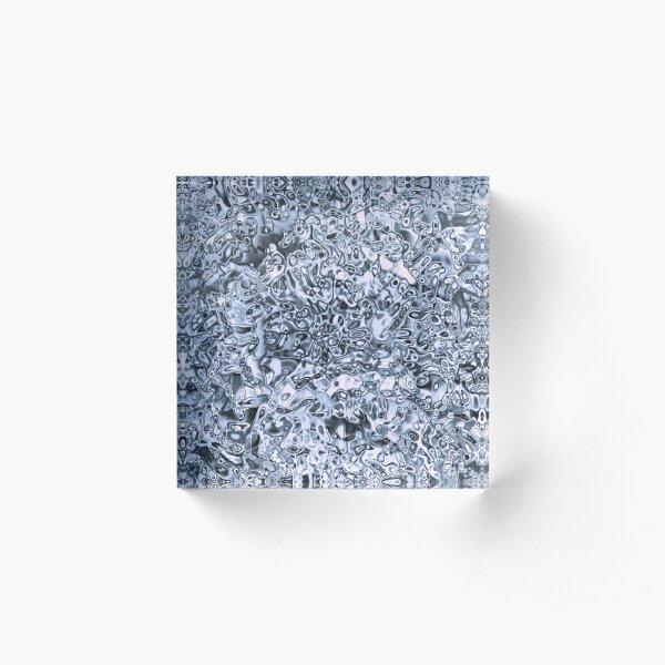 58. Underworld Silver Acrylic Block