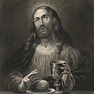 Jesus Christ, blessing the bread by artfromthepast