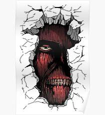 Attack on Titan - Titan Design Poster