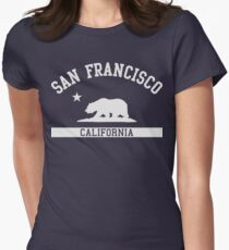 San Francisco Women's Fitted T-Shirt