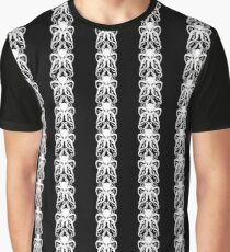 Cthulu Stripes Graphic T-Shirt