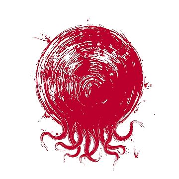 The Octopus of the Rising Sun by SuperOctopus
