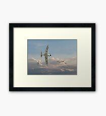 Spitfire - Long Odds Framed Print