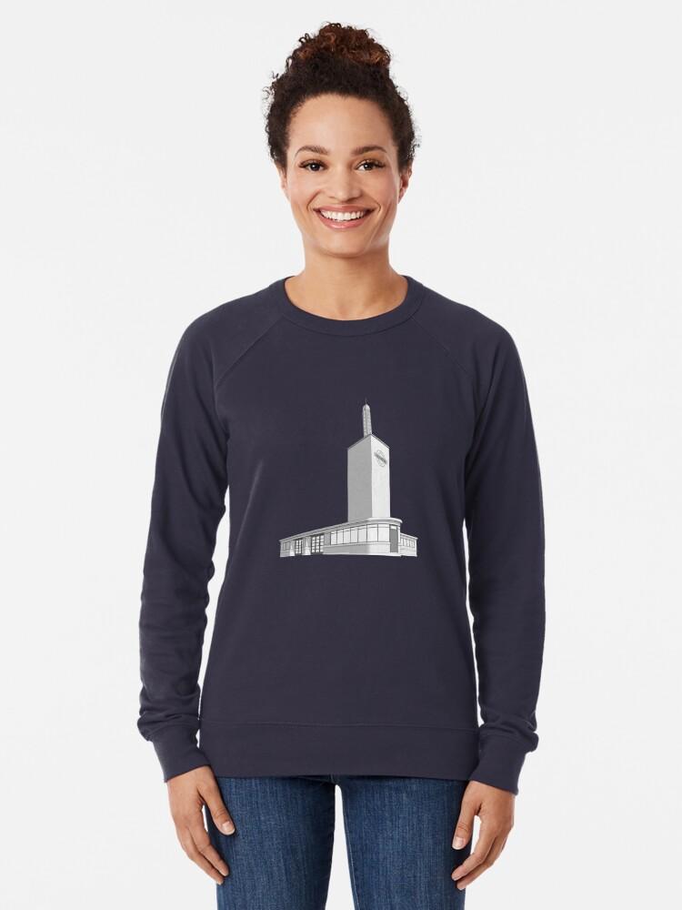 Alternate view of Osterley station Lightweight Sweatshirt