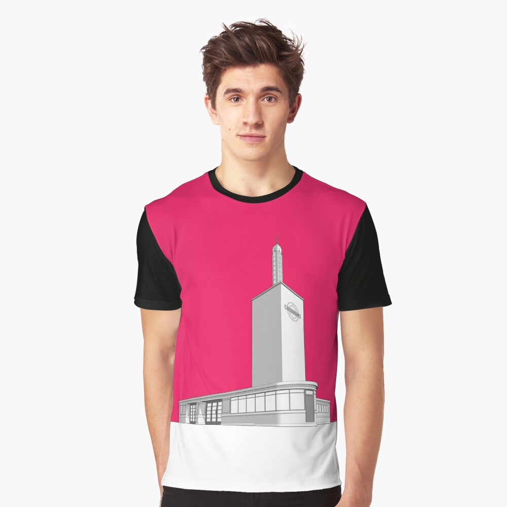 Osterley station Graphic T-Shirt Front